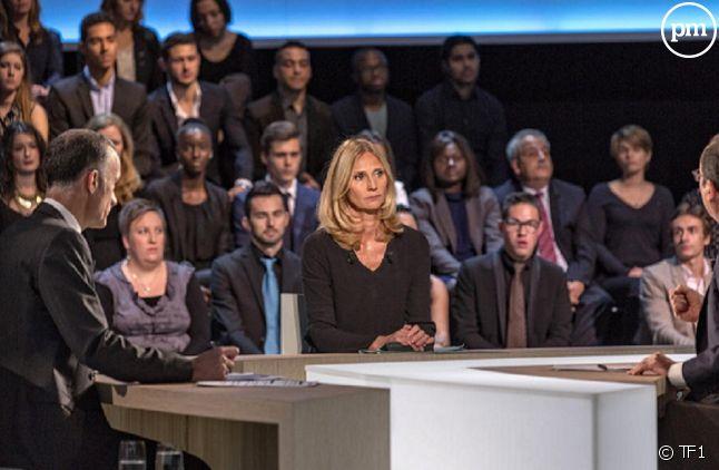 Karine Charbonnier face à François Hollande le 6 novembre dernier