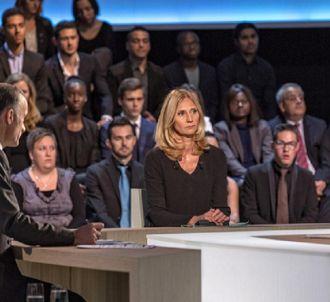 Karine Charbonnier face à François Hollande le 6 novembre...