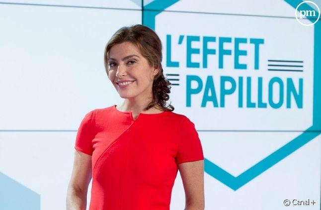 """Daphné Roulier, l'animatrice de """"L'effet papillon"""""""