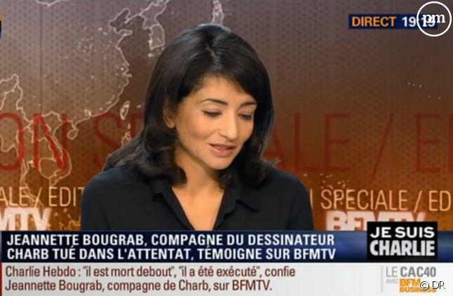 Jeannette Bougrab sur BFMTV le 8 janvier 2015
