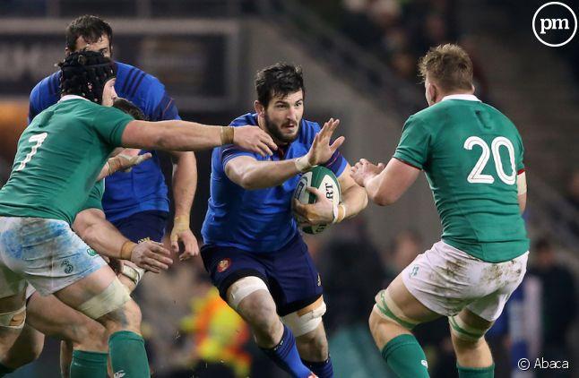Les Bleus ont perdu (18-11) hier contre l'Irlande