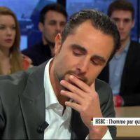 Hervé Falciani ému aux larmes dans