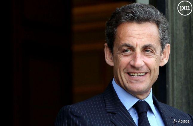 Nicolas Sarkozy, président de l'UMP.