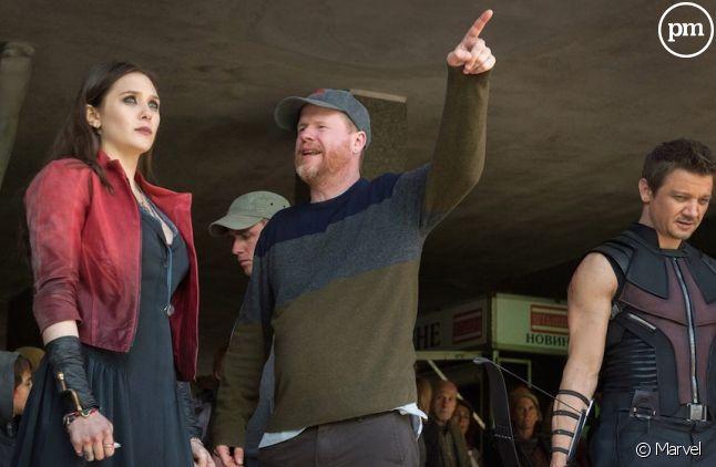 Elizabeth Olsen, Joss Whedon et Jeremy Renner