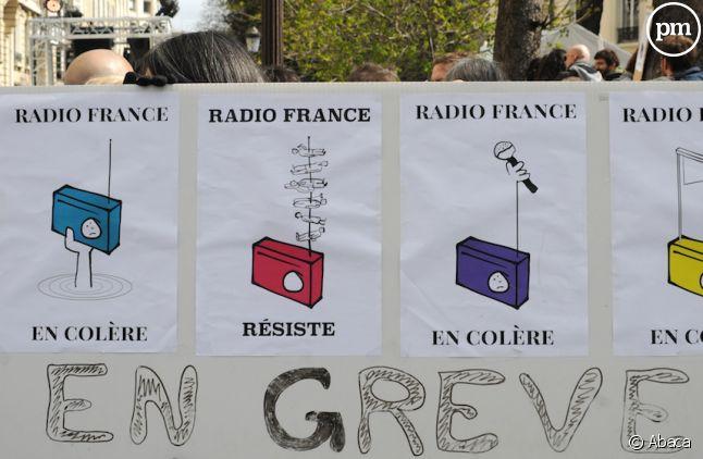 18eme jour de grève à Radio France