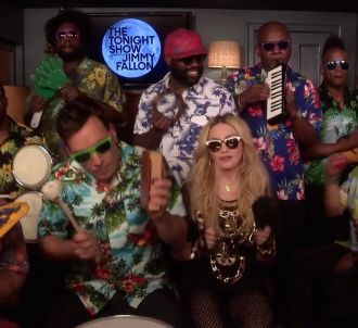 Madonna, Jimmy Fallon et les Roots reprennent 'Holiday'