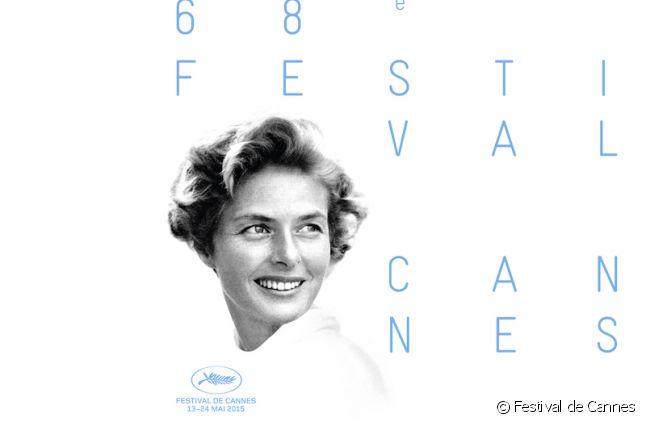 Ingrid Bergman sur l'affiche du 68ème Festival de Cannes