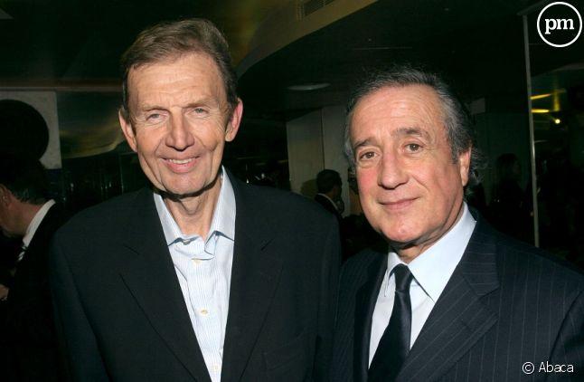 Etienne Mougeotte et Charles Villeneuve en 2006