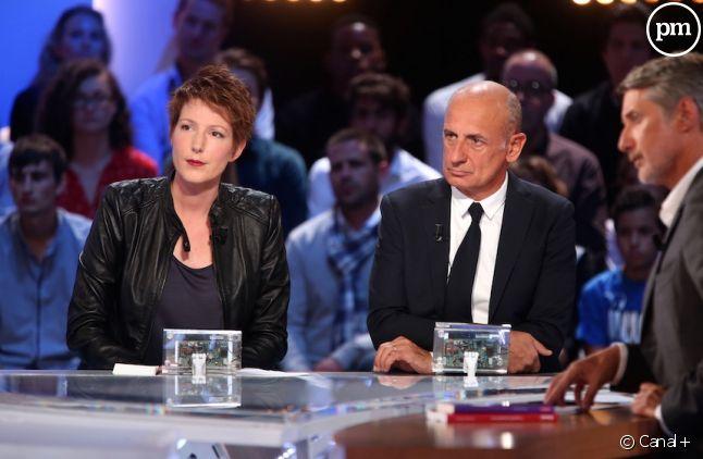 Natacha Polony, Jean-Michel Aphatie et Antoine De Caunes