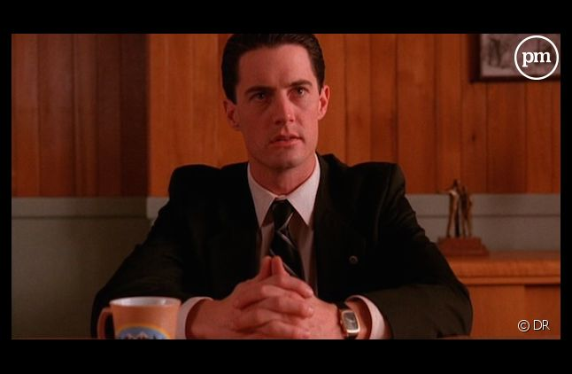 "Kyle MacLachlan dans ""Twin Peaks"""