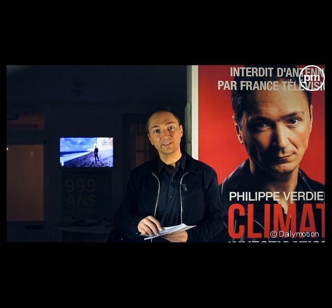 Philippe Verdier, ancien journaliste météo de France 2