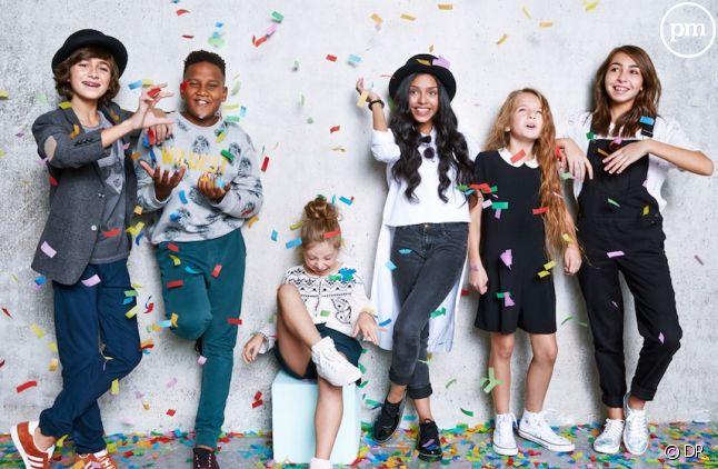 Kids United en tête du Top Albums français