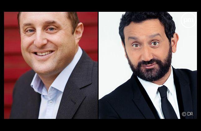 Arnaud Ramsay et Cyril Hanouna.