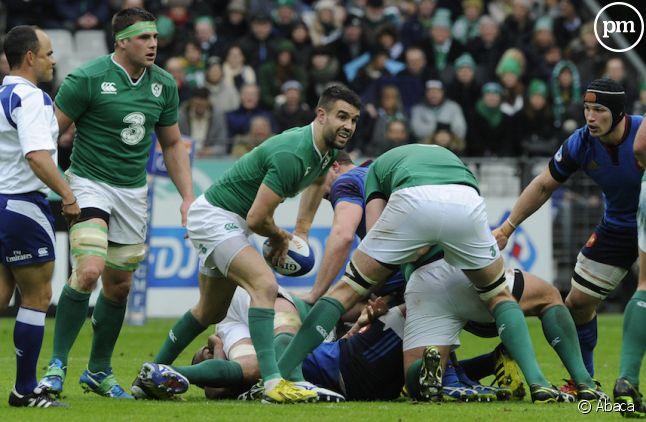 L'Irlande a perdu (21-10) hier face à l'Angleterre