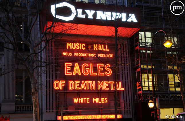 Les Eagles of Death Metal ont chanté à l'Olympia le 16 février