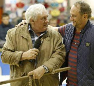 Gérard Depardieu et Benoît Poelvoorde dans 'Saint-Amour'...