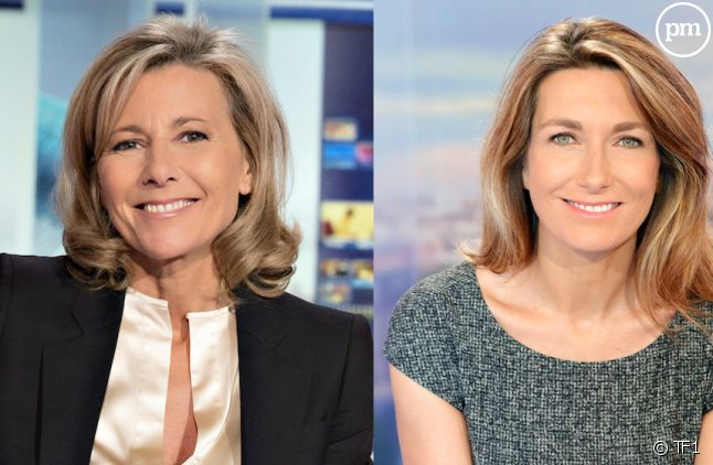 Claire Chazal et Anne-Claire Coudray