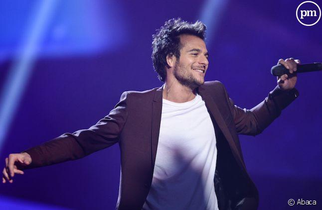 Amir lors des répétitions de l'Eurovision 2016.