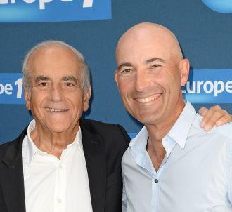 Nicolas Canteloup et Jean-Pierre Elkabbach