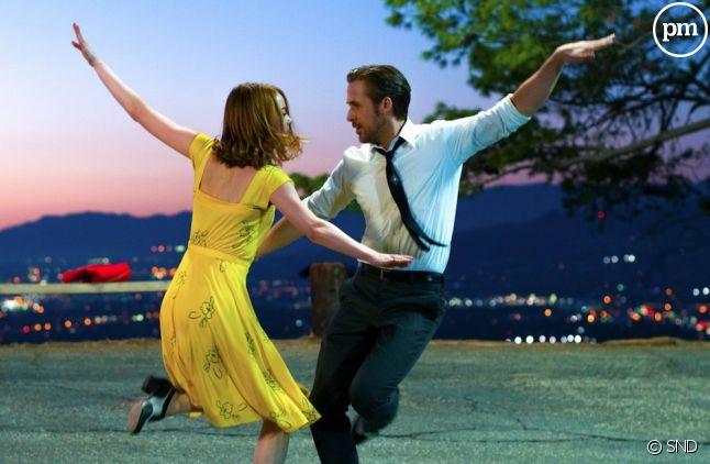 "Emma Stone et Ryan Gosling dans ""La La Land"""