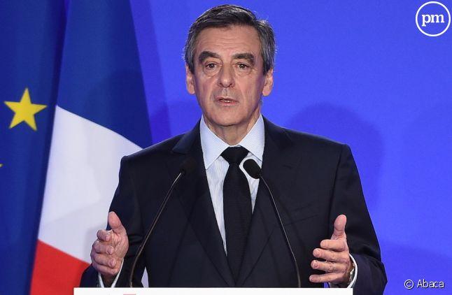 Conférence de presse de François Fillon, le 6 février 2017.