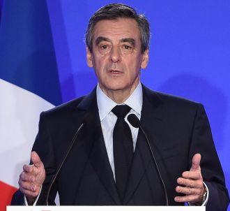 Conférence de presse de François Fillon, le 6 février...