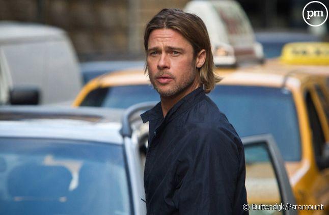 """Brad Pitt dans """"World War Z"""""""