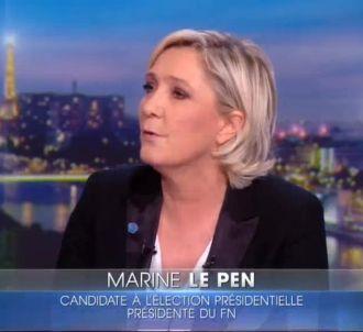 Sur TF1, Marine Le Pen s'en prend à Patrick Drahi...
