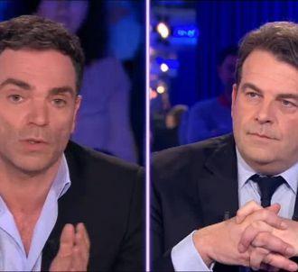 Yann Moix face à Thierry Solère.