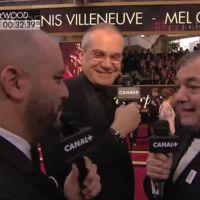 Oscars 2017 : Jérôme Commandeur pris d'un fou rire sur le tapis rouge