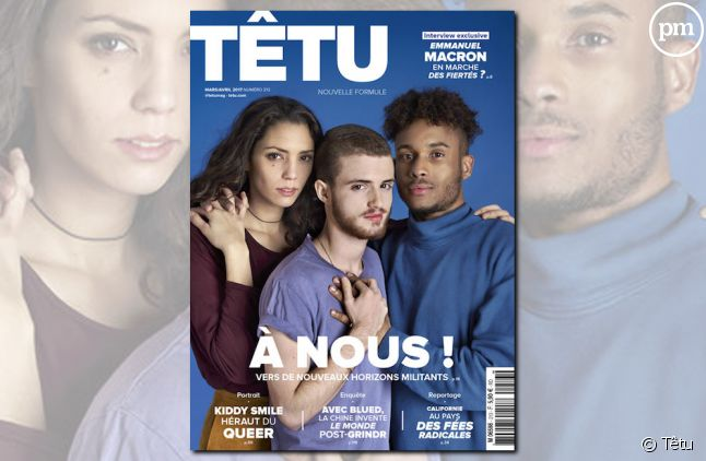 """La couverture du nouveau """"Têtu"""""""
