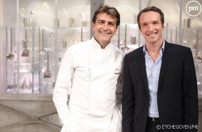 """Yannick Alléno et Stéphane Rotenberg dans """"Top Chef"""" 2017"""