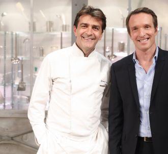 Yannick Alléno et Stéphane Rotenberg dans 'Top Chef' 2017