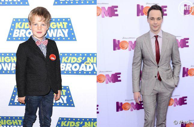 Iain Armitage et Jim Parsons sont Sheldon Cooper