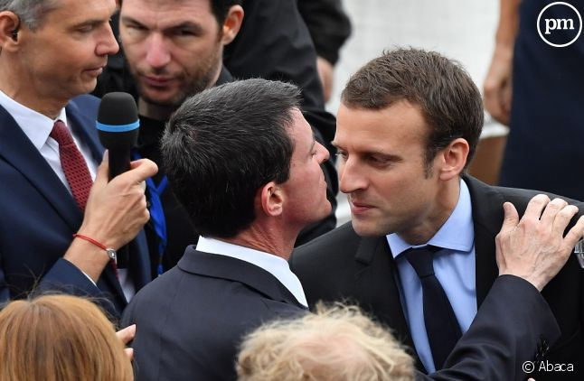 Manuel Valls et Emmanuel Macron