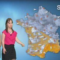 Très émue, Mélanie a présenté la météo sur France 2
