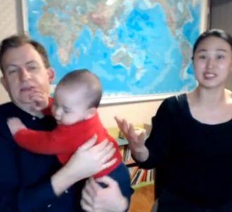 Robert Kelly et sa famille
