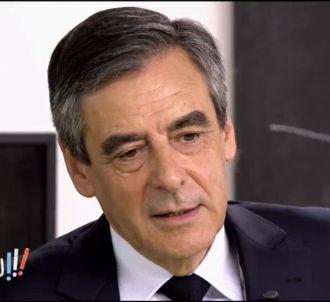 François Fillon, sur C8.