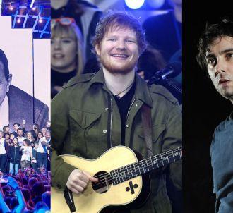 Les Enfoirés, Ed Sheeran et Saez
