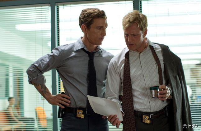 """Matthew McConaughey et Woody Harrelson dans """"True Detective"""""""