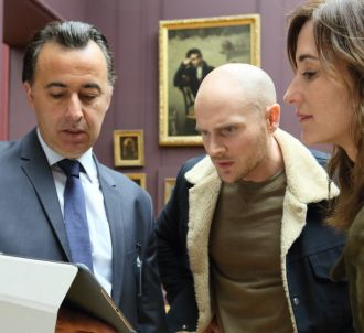 Nicolas Gob et Eleonore Gosset Bernheim dans 'L'art du...