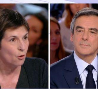 Christine Angot face à François Fillon