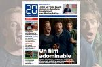 """""""Gangsterdam"""" : """"20 Minutes"""" se paie en Une le film """"adominable"""" de Kev Adams"""