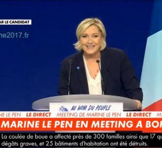 Marine Le Pen fait huer BFMTV.