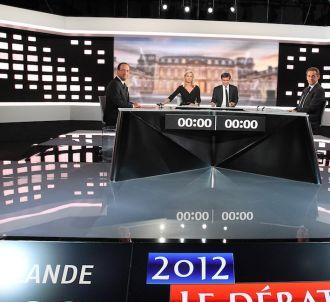 Le débat d'entre-deux-tours en 2012