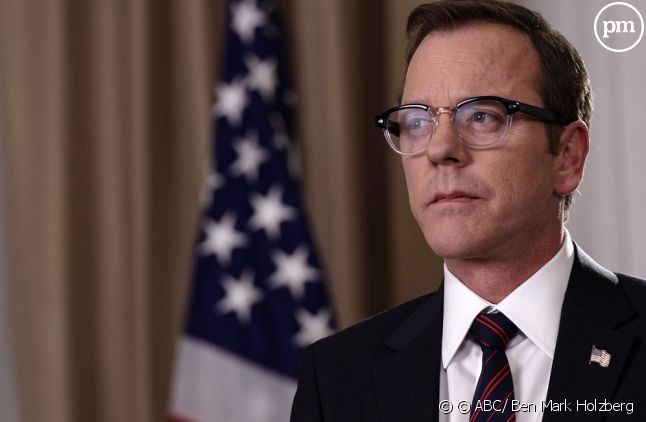 "Kiefer Sutherland dans ""Designated Survivor"""