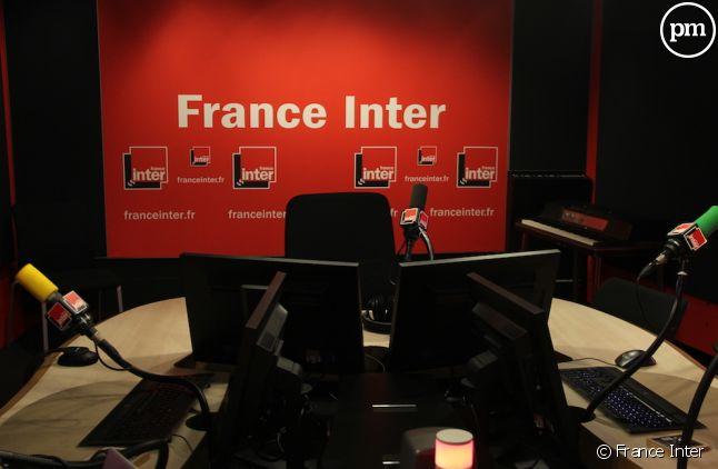 Le studio de France Inter
