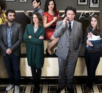 Le cast de 'Dix pour cent' saison 2