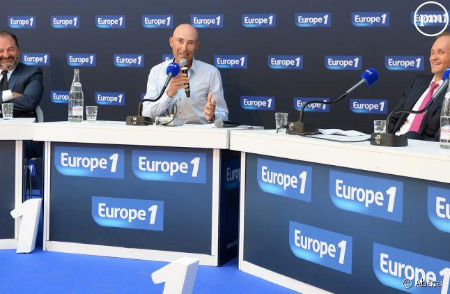 Denis Olivennes, Nicolas Canteloup et Fabien Namias.
