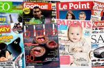 "Audiences magazines : ""L'Obs"" et ""Le Point"" en grande forme, les presses TV et people en repli"